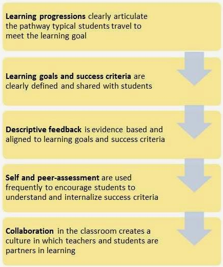 Using The Formative Assessment Process With Teachers To Improve
